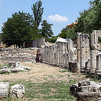Athens Imperial cult and Roman Forum